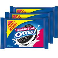 3-Pack OREO Double Stuf Family Size Chocolate Sandwich Cookies