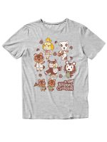 Men's Nintendo Animal Crossing Characters Graphic T-Shirt (various styles)
