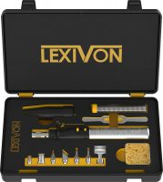 LEXIVON LX-770 Butane Soldering Iron Multi-Purpose Kit