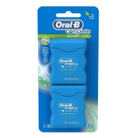 2-Count 54.6-Yd Oral-B Complete SatinFloss Dental Floss (Mint)