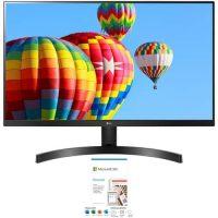 """LG FreeSync Monitors + 1-Yr MS Office 365 Personal: 27"""" 27ML600M-B 1080p"""