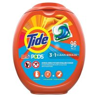 96-Count Tide PODS HE Laundry Detergent Liquid Pacs (Clean Breeze)