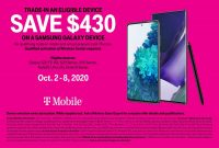 Costco T-Mobile S20 FE $430 Trade in Activation on a line only NO NEW LINE! $199.99