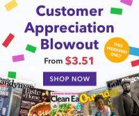 Magazines: Sports Illustrated $13.70/yr Esquire $4.70/yr Good Housekeeping