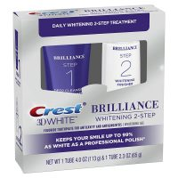 Crest 3D White Brilliance 2 Step Kit