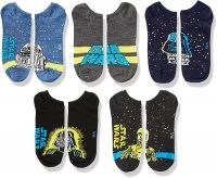 5-Pack Star Wars Men's No Show Socks