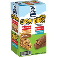 Prime Members: 58-Ct Quaker Chewy Granola Bars & Dipps Variety Pack