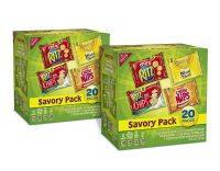 40-Pack Nabisco Savory Cracker Variety Pack