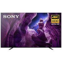 """Sony 4K UHD OLED TV's (2020): 65"""" XBR65A8H $1800 55"""" XBR55A8H"""