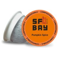 80-Count SF Bay Coffee Pumpkin Spice K-Cup Pods (Medium Roast)