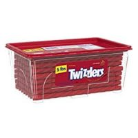 Prime Members: 5-Lbs Twizzlers Twists Licorice Candy (Strawberry)