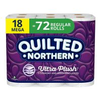 18-Count 3-Ply Quilted Northern Bathroom Toilet Paper