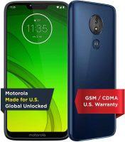 32GB Moto G7 Power Unlocked Smartphone (Blue)