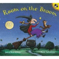 Room on the Broom (Board Book or Paperback)