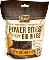 6-oz Merrick Power Bites Big Bites Grain-Free Soft & Chewy Dog Treats (Chicken)