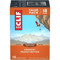 18-Count 2.4-Oz CLIF Bar Energy Protein Bars (Crunchy Peanut Butter)