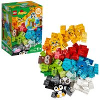 175-Piece LEGO DUPLO Classic Creative Animals Building Set