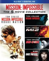 Mission Impossible 5-Film Collection (Blu-ray + Digital)
