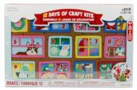 B1G1 Free Creatology Kids' Xmas Craft Kits: 12 Days of Xmas Countdown Kit