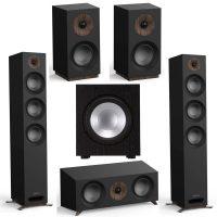 Jamo Speakers: Pair S 809 + S 83 Center + Pair S 801 Bookshelves + J 10 Sub