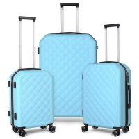 "3-Piece Travel Trolley Hard Shell Luggage Set (20"" 24"" & 28"")"
