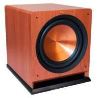 "Klipsch R-112SW 12"" 600W Reference Series Powered Subwoofer (Cherry)"