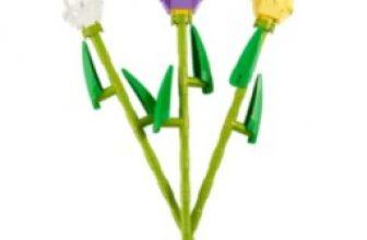 LEGO Tulips Building Set