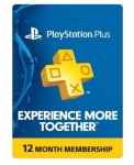 1-Year Sony PlayStation Plus Membership (Physical Card) $43 or less + Free Shipping