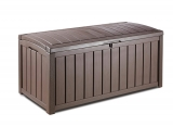 101 Gal. Keter Glenwood Plastic Outdoor Storage Box (Brown) $69.74