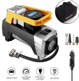 GEKER 12V Air Compressor Pump with Storage Bag, Digital Tire Inflator by 150 PSI-@amazon