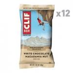 12-Count 2.4oz. Clif Bar Energy Bar (White Chocolate Macadamia Nut)