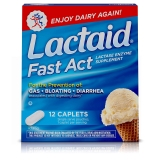 12-Ct Lactaid Fast Act Lactose Intolerance Relief Travel Packs