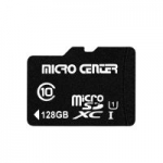 128GB Micro Center Class 10 Micro SDXC Flash Memory Card w/ Adapter