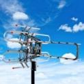 150 Miles Outdoor 1080P Amplified TV Antenna HD TV 36dB Rotor 360°UHF/VHF HDTV