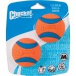 2-Pack Chuckit! Ultra Ball Dog Toy (Medium)