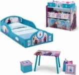 Disney Frozen II 5-Piece Toddler Bedroom Set with Bed, Table & More – $84.99