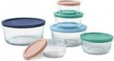 Pyrex 12-Piece Glass Storage or 8-Piece Glass Mixing Bowl Sets – $14.99 Each