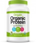 2.03 lbs Orgain  Plant Based Protein Powder (Ice Mocha Latte)