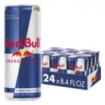 24-Count 8.4oz. Red Bull or Sugar Free Energy Drinks