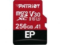 256GB Patriot EP Series V30 A1 microSDXC U3 Memory Card w/ Adapter $35 + Free Shipping