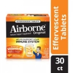 30-Count Airborne Zesty Orange Effervescent Tablets