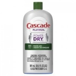 30.5oz Cascade Platinum Dishwasher Rinse Aid