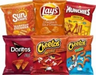 40-Count Frito-Lay Cheesy Mix Variety Pack