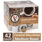 42-Count Victor Allen's Coffee Caramel Macchiato Medium Roast K-Cups $9.5  Free Shipping