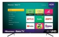 Hisense – 75″ Class – LED – R7E Series – 2160p – Smart – 4K UHD TV with HDR – Roku TV