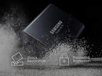 500GB Samsung T5 Portable USB 3.1 Type C External Solid State Drive