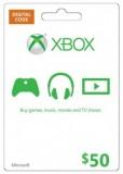 Microsoft Gift Card – $50 (Xbox One/360)