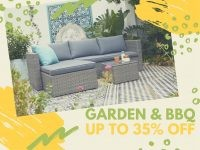 Outdoor Furniture & Décor Up To 35% OFF