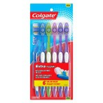 6-Count Colgate Extra Clean Full Head Toothbrushes (Medium) $3.35 w/ S&S + Free S/H