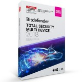 Bitdefender Total Security Multi Device 2018 – 3 Devices | 2 Years (MAC, Windows & Android)